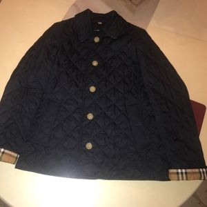 Burberry quieted jacket
